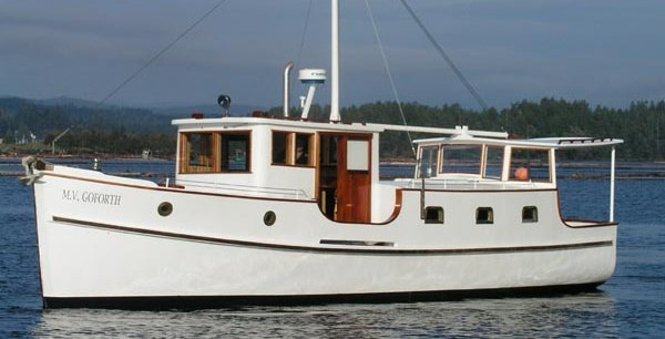 Description: MV Goforth - 35' trawler for sale - troller for sale - used boat for sale